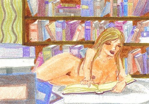 Art: Nude Study #2 by Artist Emily J White