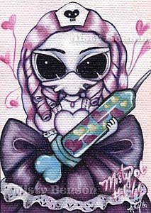 Art: Hypodermic of Love - ACEO by Artist Misty Benson