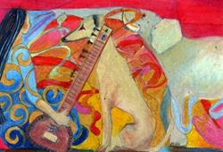 Art: Fantasia by Artist Judith A Brody