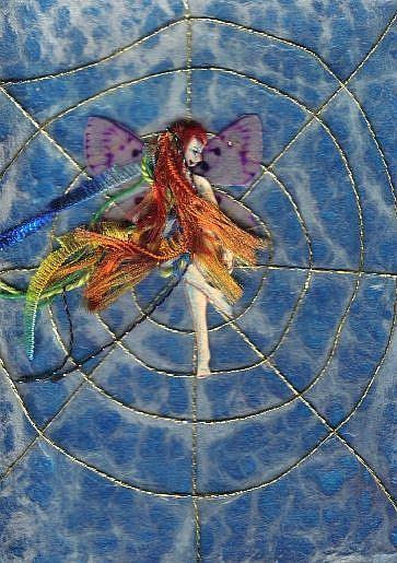 Art: Fairy Web by Artist Emily J White