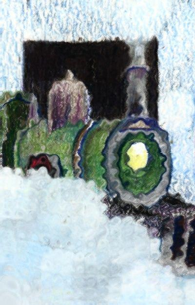 Art: The Last Steam Engine by Artist Judith A Brody