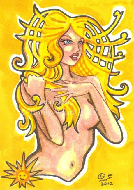 Art: Yellow by Artist Emily J White