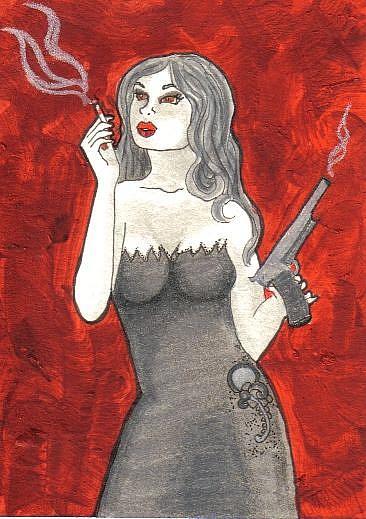 Art: Smoking Guns #2 by Artist Emily J White