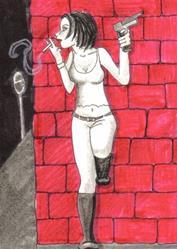 Art: Smoking Guns #7 by Artist Emily J White