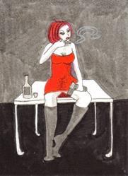 Art: Smoking Guns #5 by Artist Emily J White