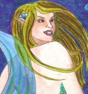 Detail Image for art Blue Bubbles