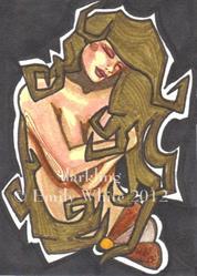 Art: Brown by Artist Emily J White