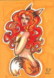 Art: Orange by Artist Emily J White