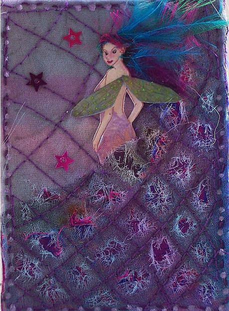Art: Quilt Fairy by Artist Emily J White