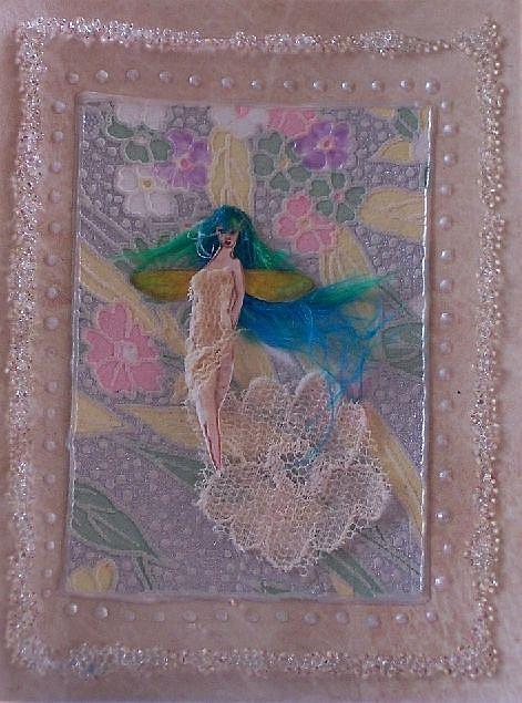 Art: White Fairy by Artist Emily J White
