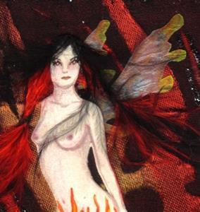 Detail Image for art Dark Flames