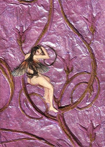 Art: Flirty Fairy by Artist Emily J White