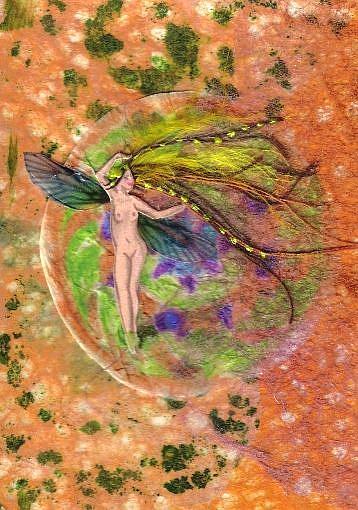 Art: Dancing in the Dirt by Artist Emily J White
