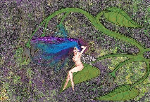 Art: La Petite Belle by Artist Emily J White
