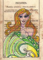 Art: Mischievious Mermaid by Artist Emily J White