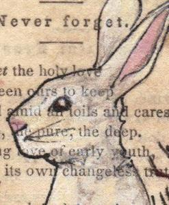 Detail Image for art Thistle Rabbit