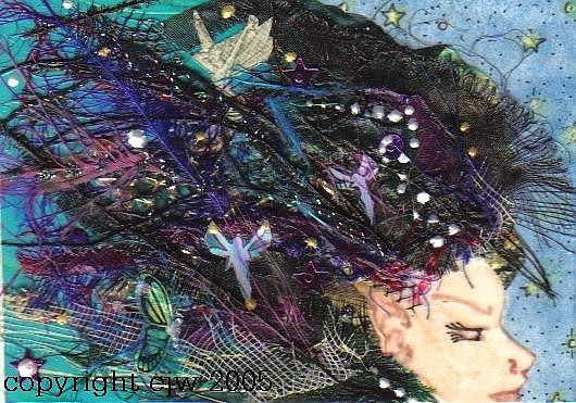 Art: Fairy Hair # 1 in Fae series by Artist Emily J White
