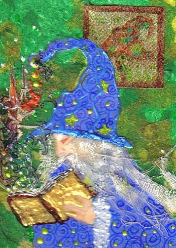 Art: Wizard's Bane # 10 in Fae series by Artist Emily J White