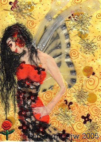 Art: Rosalie # 8 in Fae series by Artist Emily J White
