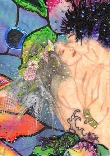 Art: Kisses #11 in Fae series by Artist Emily J White