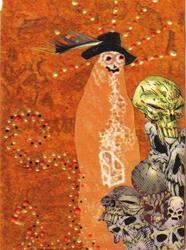 Art: Strange Man #3 in Collage pt 1 by Artist Emily J White