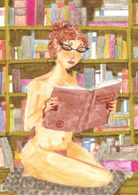Art: Nude Studies # 1 by Artist Emily J White