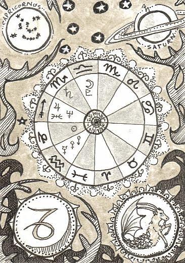 Art: Birthchart by Artist Emily J White