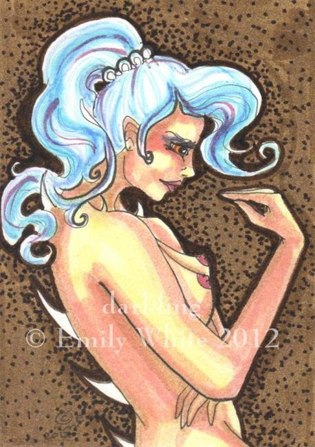 Art: Good Listener by Artist Emily J White