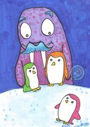 Art: Walrus by Artist Emily J White