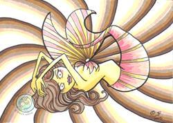 Art: Mermaid 3 by Artist Emily J White