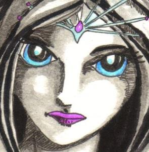 Detail Image for art Icy Eyes