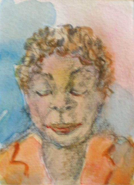 Art: My Friend by Artist Delilah Smith
