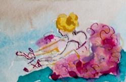 Art: Ballerina by Artist Delilah Smith