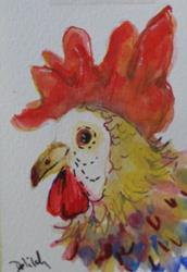 Art: Cocks Comb 2-sold by Artist Delilah Smith