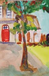 Art: The Villa by Artist Delilah Smith