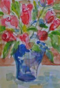 Detail Image for art Roses-sold