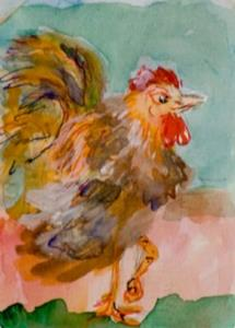 Detail Image for art Rooster-sold