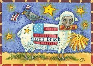 Art: ANIMAL NATION USA by Artist Susan Brack