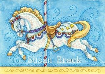 Art: RIDE ON THE FOURTH OF JULY by Artist Susan Brack