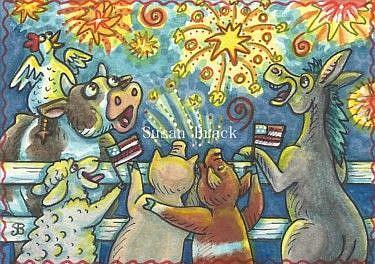 Art: OOOOH AHHHH by Artist Susan Brack