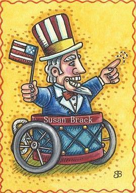 Art: STEAMPUNK AMERICANA by Artist Susan Brack