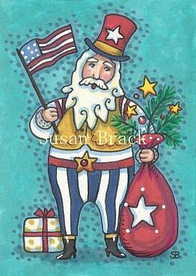 Art: HO HO HO CHRISTMAS IN JULY by Artist Susan Brack