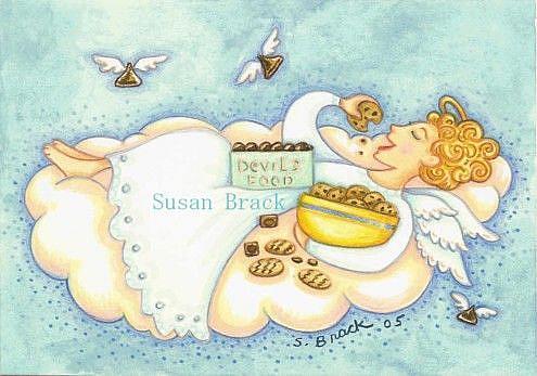 Art: ANGEL FOOD by Artist Susan Brack