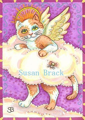 Art: ON CLOUD NINE by Artist Susan Brack