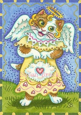 Art: LITTLE ANGEL by Artist Susan Brack