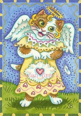 Art: LITTLE ANGEL by Artist Susan Brack