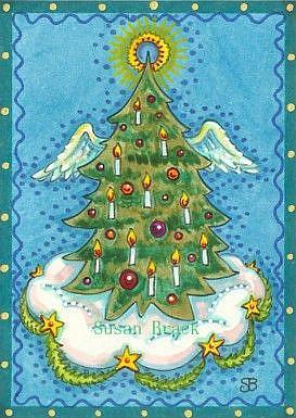 Art: ANGEL TREE by Artist Susan Brack