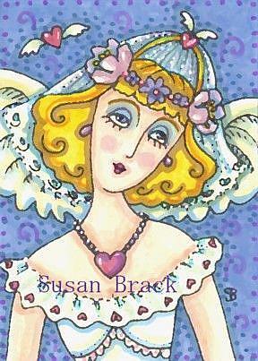 Art: ANGEL BRIDE by Artist Susan Brack