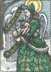 Art: ANGEL OF CHRISTMAS PAST by Artist Susan Brack