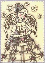 Art: STEAMPUNK ANGEL by Artist Susan Brack